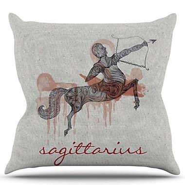 KESS InHouse Sagittarius Throw Pillow; 20'' H x 20'' W
