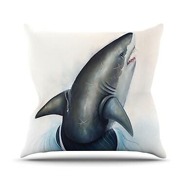KESS InHouse Lucid Throw Pillow; 20'' H x 20'' W x 4.5'' D