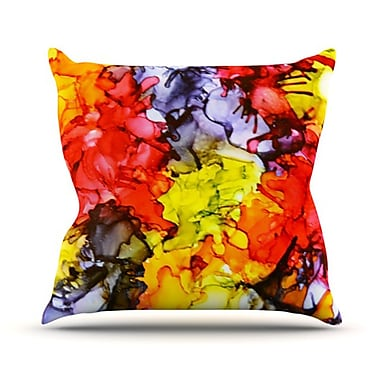 KESS InHouse Southern Comfort Throw Pillow; 26'' H x 26'' W