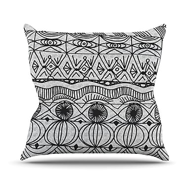 KESS InHouse Blanket of Confusion Throw Pillow; 20'' H x 20'' W