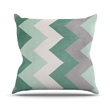 KESS InHouse Winter Throw Pillow; 18'' H x 18'' W