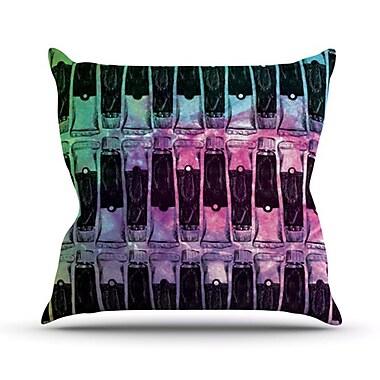 KESS InHouse Paint Tubes II Throw Pillow; 20'' H x 20'' W