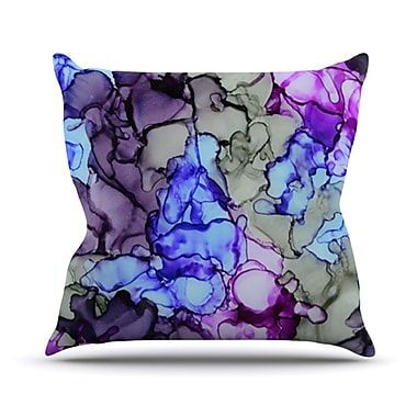 KESS InHouse String Theory Throw Pillow; 20'' H x 20'' W