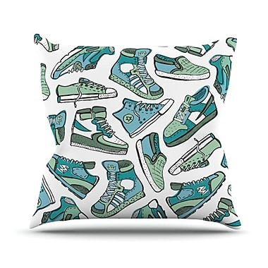 KESS InHouse Sneaker Lover III Throw Pillow; 20'' H x 20'' W