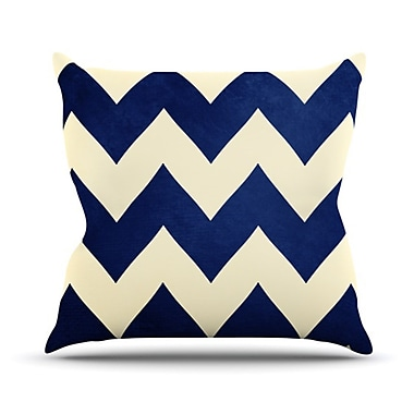 KESS InHouse Fleet Week Throw Pillow; 18'' H x 18'' W