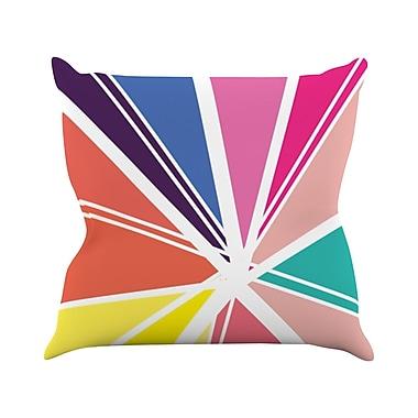 KESS InHouse Boldly Bright Throw Pillow; 26'' H x 26'' W