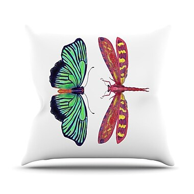 KESS InHouse Haland Throw Pillow; 20'' H x 20'' W