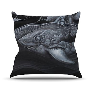 KESS InHouse Troubled Joe Throw Pillow; 20'' H x 20'' W x 4.5'' D