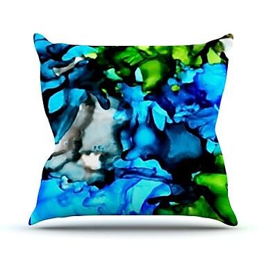 KESS InHouse Chesapeake Bay Throw Pillow; 18'' H x 18'' W