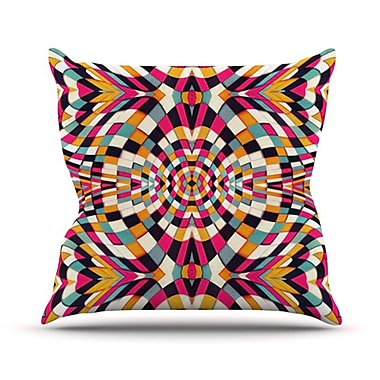 KESS InHouse Rebel Ya Throw Pillow; 20'' H x 20'' W