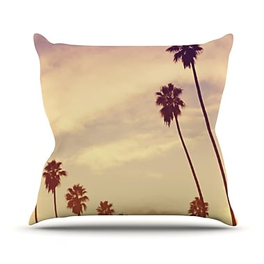 KESS InHouse Endless Summer Throw Pillow; 26'' H x 26'' W