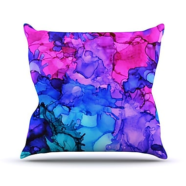 KESS InHouse Audrey Throw Pillow; 26'' H x 26'' W