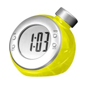 Creative Motion Hydro Clock; Yellow
