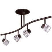 Kendal Lighting Nova 4 Light Kitchen Island Pendant; Oil Rubbed Bronze
