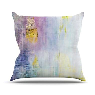KESS InHouse Color Grunge Throw Pillow; 18'' H x 18'' W