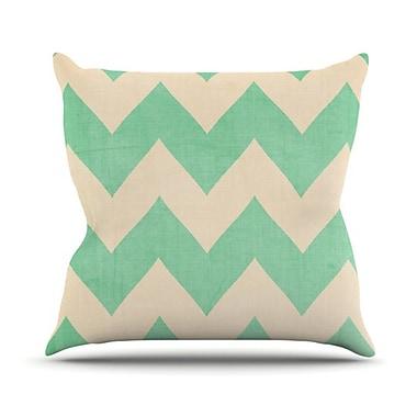 KESS InHouse Malibu Throw Pillow; 18'' H x 18'' W