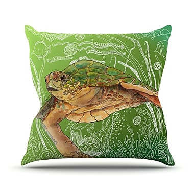KESS InHouse Shelley Throw Pillow; 18'' H x 18'' W
