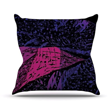 KESS InHouse Family 6 Throw Pillow; 20'' H x 20'' W