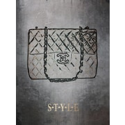 PENL 'S.T.Y.L.E. Chanel Bag' Painting Print on Wrapped Canvas
