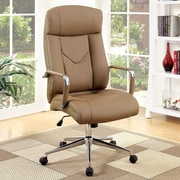 A&J Homes Studio Camel High-Back Executive Office Chair