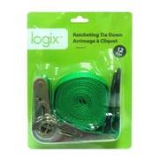 "Logix 12"" Ratcheting 1"" Tie Loading, 20.40x16x5cm, 500g, (99527)"