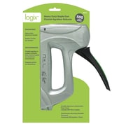 Logix Staple Gun with 500 Staples, 30x22x4cm, 1kg, (99510)