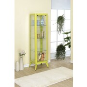 Hokku Designs Avery Display Cabinet; Apple Green