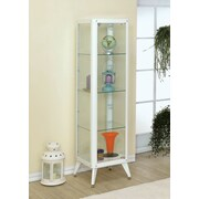 Hokku Designs Avery Display Cabinet; White