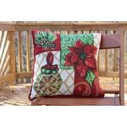 Tache Home Fashion Tidings Decorative Cushion Throw Cover (Set of 2)