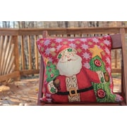 Tache Home Fashion Santa Claus is Coming to Town Throw Pillow Cushion Cover (Set of 2)