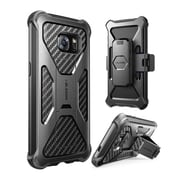 i-Blason Prime Series Kickstand Case with Belt Clip Holster for Samsung Galaxy S7 Edge - Black