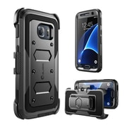 i-Blason Armorbox Series Fullbody Protection Case with built-in Screen Protector for Samsung Galaxy S7 - Black