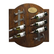 French Heritage French Accents 8 Bottle Wall Mounted Wine Rack