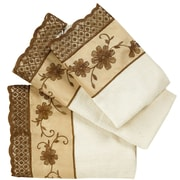 Sweet Home Collection Veronica 3 Piece Towel Set