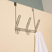 Sweet Home Collection Over the Door 3 Hook Hanging Rack