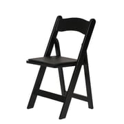 Commercial Seating Products American Classic Wood Folding Chair; Black