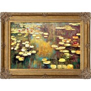 Tori Home Water Lilies by Claude Monet Framed Painting