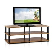 Furinno Furinno Turn-S-Tube TV Stand; Light Cherry / Black