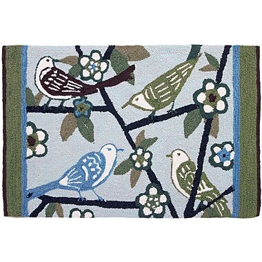 Homefires The Gathering Novelty Rug; 1'10'' x 2'10''