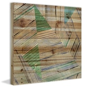 Marmont Hill Patterned Shapes Painting Print; 32'' H x 32'' W x 1.5'' D