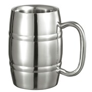 Visol Products Big Cooper Double Walled Stainless Steel 13 oz. Beer Mug