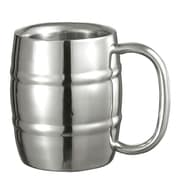 Visol Products Little Cooper Double Walled Stainless Steel 9 oz. Beer Mug