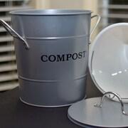 Exaco 0.12 cu. ft. Kitchen/Countertop Composter; Silver