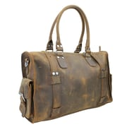 Vagabond Traveler 18'' Leather Travel Duffel