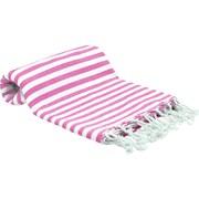 Buldano Turkish Peshtemal Fouta Bath Towel; Pink