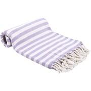 Buldano Turkish Peshtemal Fouta Bath Towel; Lilac