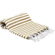 Buldano Turkish Peshtemal Fouta Bath Towel; Brown