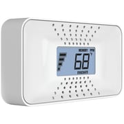 First Alert Carbon Monoxide Alarm with Temperature, Digital Display & Sealed Battery