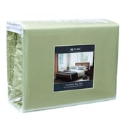 Off To Bed 1500 Thread Count Twin Sheet Set; Sage