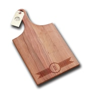 Richwood Creations Ribbon Banner Handle Cutting Board; D